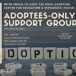 Adoptees-Only Support Group Therapy & Workshops Spark Center Sacramento